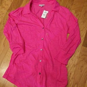 Express Sheer Two Pocket Shirt
